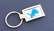 Detroit Lions Curved Key Chain