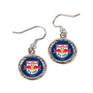 New York Red Bulls Round Earrings