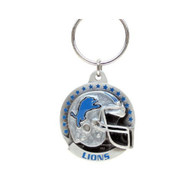 Detroit Lions Pewter Keychain