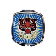 Believe Tiger Tattoo Compact Mirror