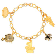 New Orleans Saints Charm Bracelet