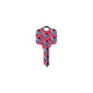 Detroit Pistons Kwikset KW1 House Key