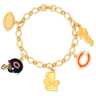 Chicago Bears Charm Bracelet