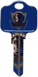 Dallas Mavericks Schlage SC1 Key