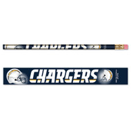 San Diego Chargers Pencils - Pack of Six (6)