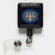 New Orleans Saints Retractable Badge Holder