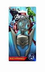 Thor Helmet Pewter Keychain