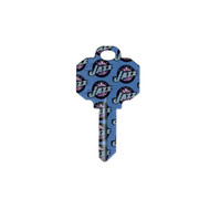 Utah Jazz Schlage SC1 House Key
