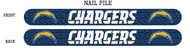 San Diego Chargers Nail File