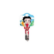 Betty Boop In New York Schlage SC1 House Key