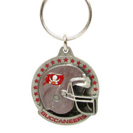 Tampa Bay Buccaneers Pewter Keychain