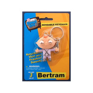 Family Guy Bertram Bendable Keychain
