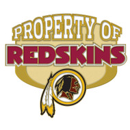 Washington Redskins Property Of Cloisonne Pin