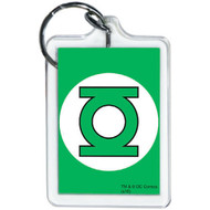 Green Lantern Lucite Key Chain