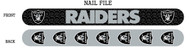 Oakland Raiders Nail File