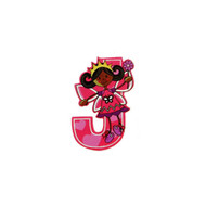 Self Adhesive Wooden Fairy Letter J by The Toy Workshop