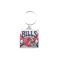 Buffalo Bills Pewter Square Keychain