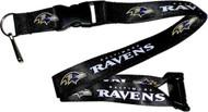 Baltimore Ravens Lanyard Keychain