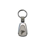 Atlanta Falcons Laser Etched Tear Drop Keychain