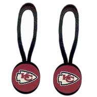 Kansas City Chiefs Zipper Pull (2-Pack)