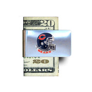 Chicago Bears Pewter Emblem Money Clip