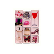 Passion for Pink Mighty Magnets Set of 10