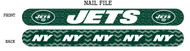 New York Jets Nail File