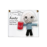 Andy String Doll Gang Keychain (colors may vary)