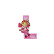 Self Adhesive Wooden Fairy Letter L by The Toy Workshop