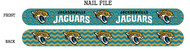 Jacksonville Jaguars Nail File