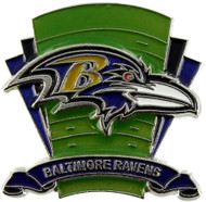 Baltimore Ravens Logo Field Lapel Pin