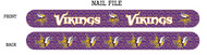 Minnesota Vikings Nail File