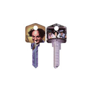 The Three Stooges Larry Schlage SC1 House Key