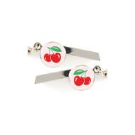 Cherries Safety Whistle Keychain - 067