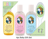 West Virginia 4pc Baby Gift Set
