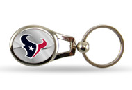 Houston Texans Oval Keychain