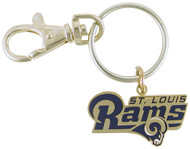 St. Louis Rams Key Chain with clip Keychain NFL
