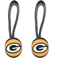 Green Bay Packers Zipper Pull (2-Pack)