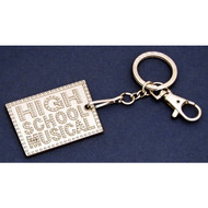 High School Musical Pewter Picture Frame Keychain