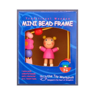Wooden Mini Girl Bead Frame by The Toy Workshop
