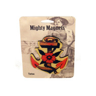 Anchor Tattoo King Mighty Magnet