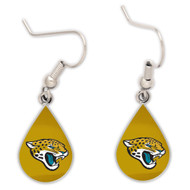 Jacksonville Jaguars Tear Drop Earrings