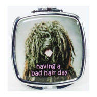 having a bad hair day Compact Mirror