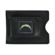 San Diego Chargers Leather Money Clip and Card Case