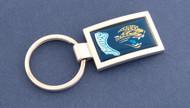 Jacksonville Jaguars Curved Key Chain