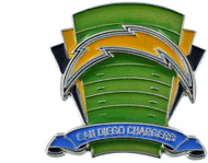 San Diego Chargers Logo Field Lapel Pin
