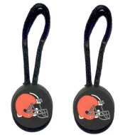 Cleveland Browns Zipper Pull (2-Pack)