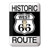Route 66 Metal Switch Plate Cover