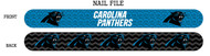Carolina Panthers Nail File