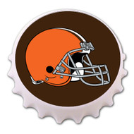 Cleveland Browns Bottle Cap Magnet Bottle Opener